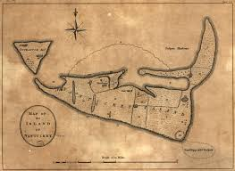Nantucket Map Historical Maps Martha U0027s Vineyard