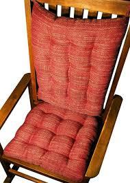 Home Decor Brisbane Brisbane Tweed Rocking Chair Cushions Foam Fill