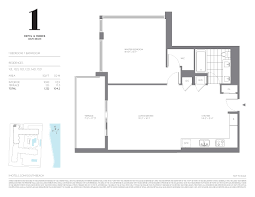 floor plans for one homes 1 hotel homes south miami condos