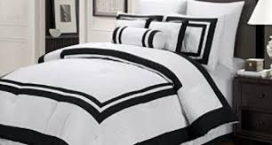 White Comforter Sets Queen Bedding Set Beautiful Black And White Print Bedding Sets Also