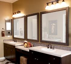 framing bathroom mirror ideas mirror outstanding framed ideas gray cool unique bathroom
