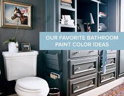 Bathroom Painting Color Ideas Our Favorite Bathroom Paint Color Ideas Domino