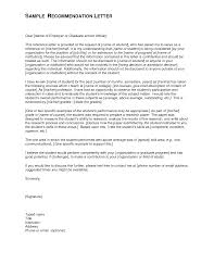 Sample Reference Letter For Employment Template Example Reference Letter For Graduate Mediafoxstudio Com