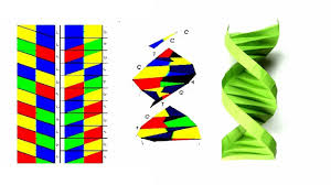 Dna Model Origami - origami dna how to fold a paper origami dna