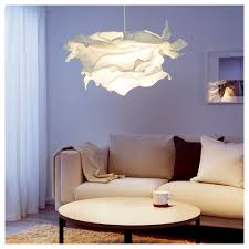 Shade Pendant Light Krusning Pendant L Shade White 85 Cm Ikea