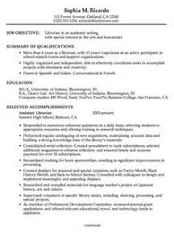 Cover Letters For Resume Examples by Librarian Application Letter This Is A Sample Job Application