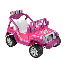 jeep toy fisher price power wheels barbie jeep wrangler mattel toys