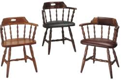 mate u0027s captain wooden chairs with arms