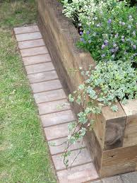the 25 best wood edging ideas on pinterest sleepers garden