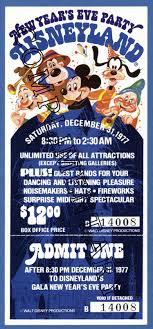 vintage new year s noisemakers vintage disneyland tickets new year s at disneyland 1975