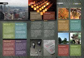 tri fold brochure template indesign free indesign a4 tri fold brochure