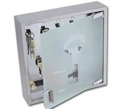 design schlüsselkasten edelstahl glas schlüssel modell elecsa 1017 - Schluesselkasten Design