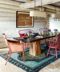 a classic log cabin home in colorado gets a makeover rustic home