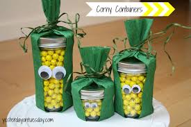 corny containers thanksgiving craft yesterday on tuesday
