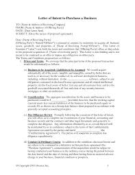 Business Letter Language acquisition business letters letter of intent for business