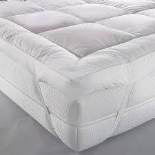 Queen Mattress Topper Bed U0026 Bath Queen Mattress Cover And Feather Bed Topper With