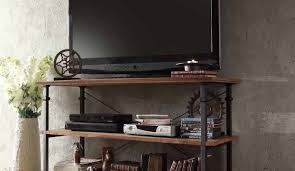 industrial style furniture tv wonderful industrial style tv stands office printer utility