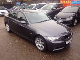 bmw 3 series manual grey saloon 2007 plate cruise control
