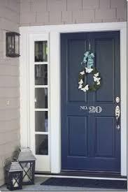 front door colors for gray house navy front door navy blue number and doors