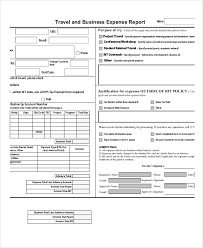 simple business report template expense report 11 free word excel pdf documents
