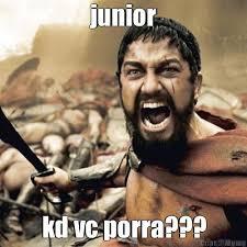 Junior Meme - junior kd vc porra meme criarmeme com br