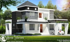 Impressive Design Ideas 1700 Sq 1700 Sq Ft Contemporary Double Floor 4 Bhk Home Designs