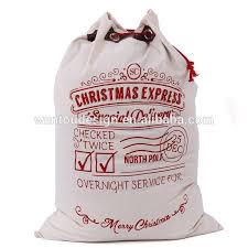 santa sacks wholesale canvas christmas cheap santa sacks buy cheap santa sacks