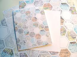 Map Paper Mel Stampz Housekeeping Questions For You And Map Hexagon