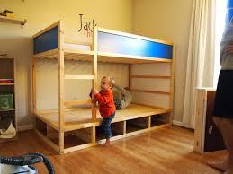 Bunk Bed With Slide Ikea Ikea Kura Hack Design Hacks Ikea Hack Kura Loft Bed