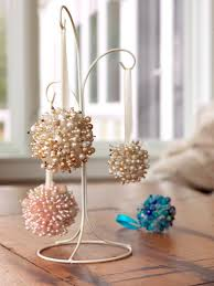Pink And Pearl Christmas Decorations by Make Christmas Ornaments From Old Necklaces Diy