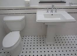 black and white tile bathroom decorating ideas realie