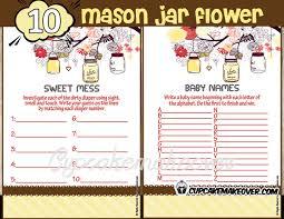 Mason Jar Baby Shower Ideas Mason Jar Baby Shower Ideas Archives Cupcakemakeover