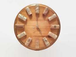 themed clock why a wine themed clock because it will always tell you its
