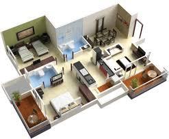 fresh design 6 3d house designs and floor plans home decor ideas