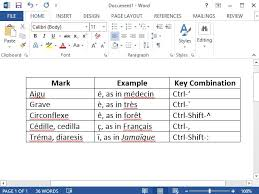 french script l shade how to type french accent marks in microsoft word techwalla com