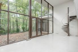 Glass Wall House by 50s Modernist Masterpiece With Two Story Glass Wall Asks 400k