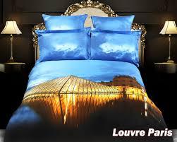 theme comforter louvre theme bedding king size cotton duvet cover