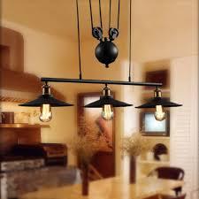 wrought iron kitchen light fixtures online get cheap pulley light fixtures aliexpress com alibaba group
