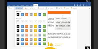 microsoft u0027s word excel and powerpoint android apps are now