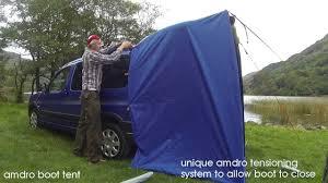 Bongo Tailgate Awning Amdro Boot Tent Youtube