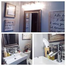 a blessed nest our bathroom makeover