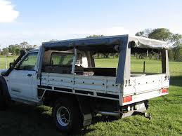 Land Cruiser Aluminium Canopy by View Topic Canvas Canopies Australian 4wd Action