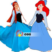 Mermaid Halloween Costume Adults Popular Costume Princess Ariel Buy Cheap Costume