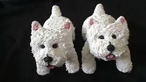 polymer clay westie ornaments copy