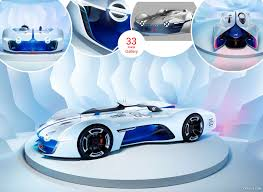 renault alpine concept interior 2015 renault alpine vision gran turismo concept caricos com