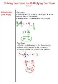 solve algebraic equations