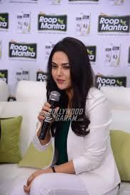 preity zinta shoots for face cream brand roop mantra