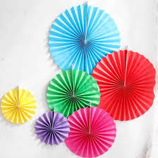 decorations paper fan decorations ct theme party pink and gold glitter backdrop pink diy paper fan