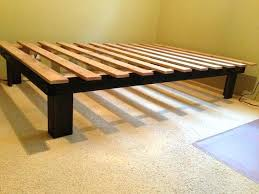 Simple Platform Bed Frame Here Are Simple Platform Bed Frame Plans Cheap Easy Low Waste