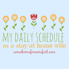 my daily schedule as a stay at home wife with loop control